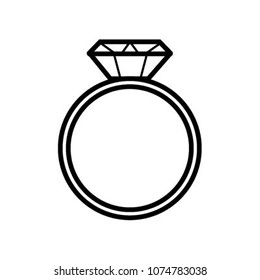 dimond ring icon