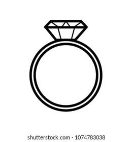 dimond ring icon
