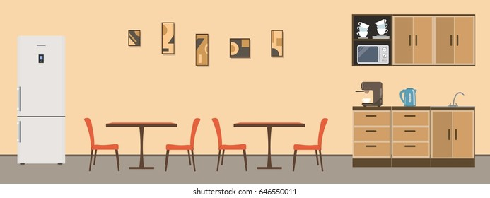 Prime Office Break Room Images Stock Photos Vectors Shutterstock Interior Design Ideas Gentotryabchikinfo