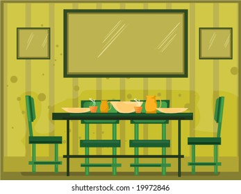 Dining Room Clipart Images Stock Photos Vectors Shutterstock