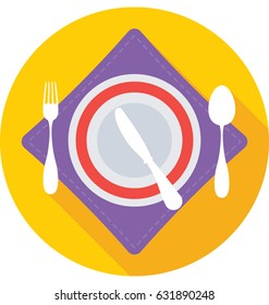 Dining Vector Icon