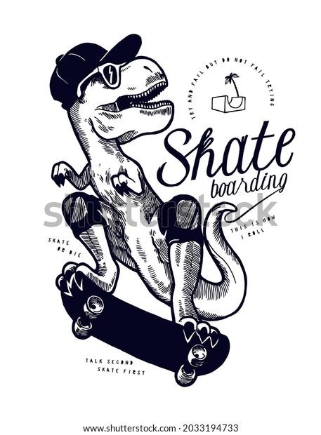 dino-skateboarding-cute-trex-dinosaur-60