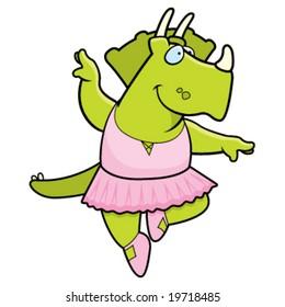Dinosaur Ballerina