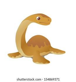 Dinosaur Elasmosaurus