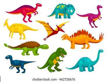 Image of: Cartoon Vector Dinosaurs Cartoon Collection Cute Trex Tyrannosaurus Pterosaur Pterodactyl Toy Characters Shutterstock Dinosaur Cartoon Images Stock Photos Vectors Shutterstock