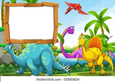 dinosaur clipart images stock photos vectors shutterstock