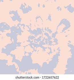 Dip Dyed Flower Vector. Hypnotic Swirl. Pale Pink Ink Background. Bohemian Shibori Pattern. Blush Wallpaper Ornament. Watercolor Brush Print. Pink Psychedelic Twist. Tie Dye Effect.
