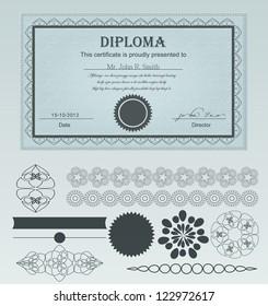 Diploma Certificate.