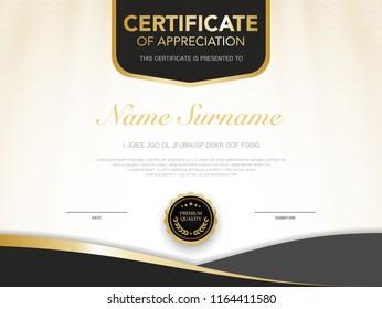 Certification Paper Stock Vectors, Images & Vector Art
