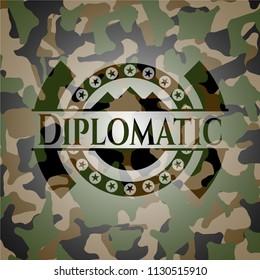 Diplomatic camouflage emblem