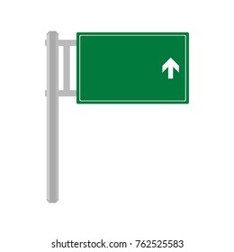 direction sign template logo