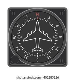 Directional gyro indicator