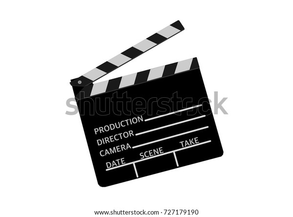 White Director/'s Clapperboard