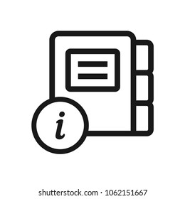 Directory Information icon
