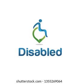Disability logo vector - Vector
