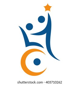 Disability support logo