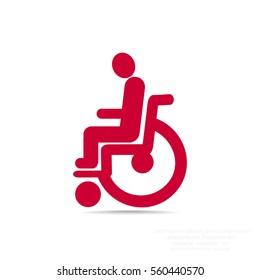 Disabled icon Flat.