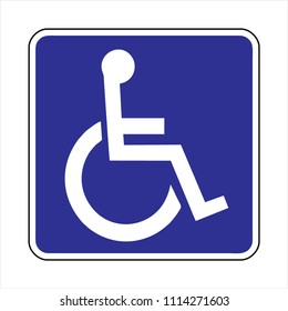 disabled icon, parking ,Toilet symbols