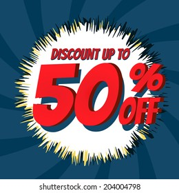 Discount up to 50% off Vintage Vector