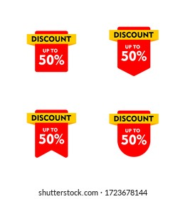 Discount 50% - Sticker Design : Business Theme, Shopping Theme, Infographics and Other Graphic Related Assets.