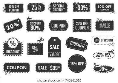discount coupons, sale banners, special offer