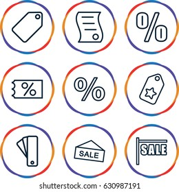 icon set magnifier passing over documents stock vector royalty free