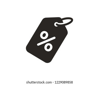 Discount percentage icon sign symbol