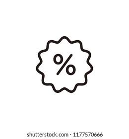Discount, percentage icon symbol