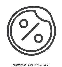 Discount vector icon
