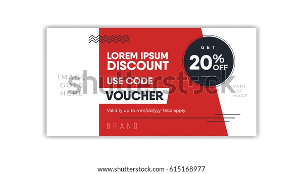 Coupon Layout Template from image.shutterstock.com
