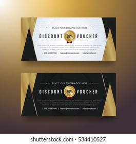 discount voucher template with luxury pattern,sale banner,flyer,Vector illustration