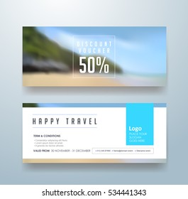 discount voucher template with modern colorful pattern,banner,flyer,Vector illustration