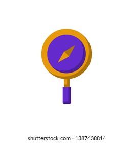 Discover Icon Vector Icon Vector Flat Stock Vector Royalty Free 1387438814