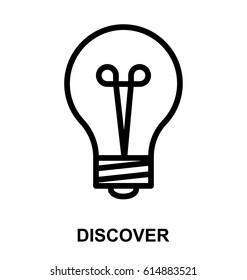 Discover Line Vector Icon