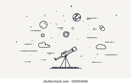 Teleskop Gorseller Stok Fotograflar Ve Vektorler Shutterstock