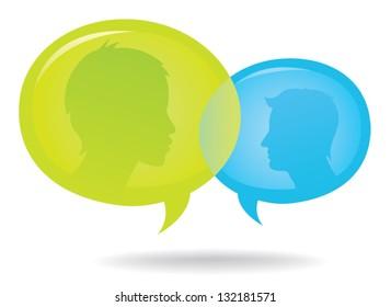 Discussion Speech Bubble