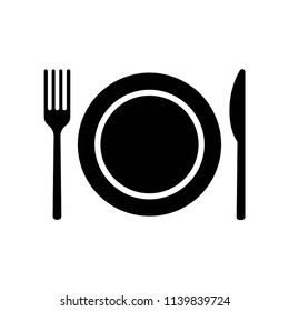 Dish icon vector icon. Simple element illustration. Dish symbol design. Can be used for web and mobile.