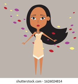 Disney's Pocahontas princess Collection vector