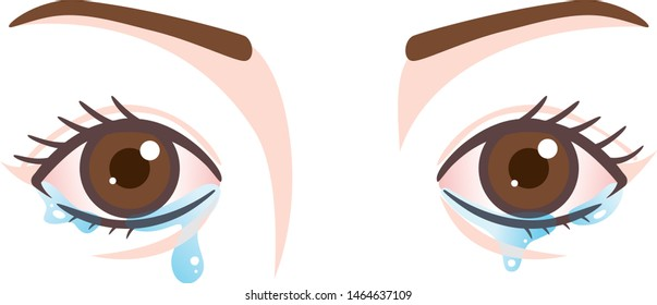 Disorder of eyes, excessive watering of the eyes