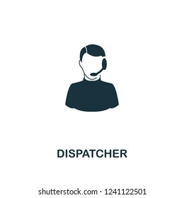 Dispatcher icon. Premium style design from public transport collection. UX and UI. Pixel perfect dispatcher icon for web design, apps, software, printing usage.
