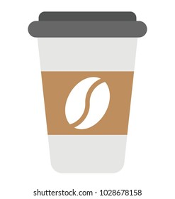 Disposable coffee cup flaticon