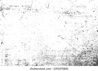 Distress Grainy Texture. Parchment grunge backdrop. Paper overlay background. Empty Weathered Element. EPS10 vector