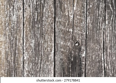 Distress painted wooden planks background for your design. EPS10 vector.