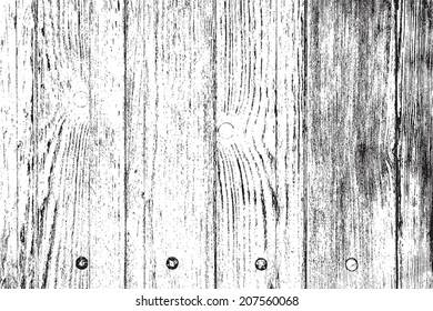 Distress Wooden Overlay Grainy Texture For Your Design. EPS10 vector.