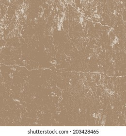 Distressed Cracked Plaster Texture for your design. EPS10 vector.