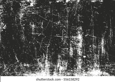 Distressed overlay texture of rusted peeled metal. grunge background. abstract halftone vector illustration - Shutterstock ID 556158292