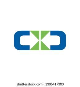 Distribute Two Direction Symbol Design