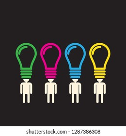 diverse team of differently thinking people