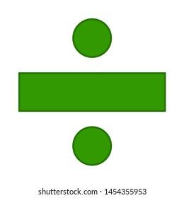dividing icon. flat illustration of dividing. vector icon. dividing sign symbol