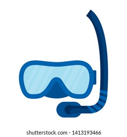 diving snorkel mask accessory icon